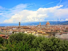 The skyline of Florence http://destinationfiction.blogspot.ca/2014/08/dan-browns-inferno-more-florence-in.html