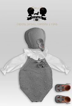 Y esta monería se va para Rafi My Little Baby, My Baby Girl, Little Girls, Knitting For Kids, Baby Knitting, Crochet Baby, Baby Boy Outfits, Kids Outfits, Knitted Romper
