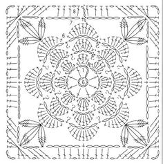 Beautiful free diagrams. Site not in English but gorgeous squares and curtains