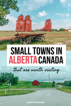 Visit Small towns in Canada travel Alberta | Quint countryside Canada travel guide | Alberta Canada Photographybeautiful places to visit #travelinspiration #canada #beautifulplaces #smalltowns Alberta Canada, Oregon, Canadian Travel, Canadian Rockies, Bag Essentials, Alberta Travel, Visit Canada, Canada Eh, Canada Destinations