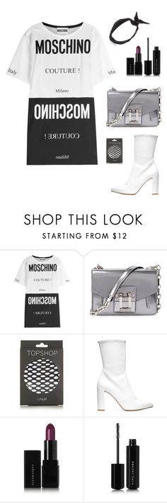 """""""Untitled #231"""" by bajka2468 ❤ liked on Polyvore featuring Moschino, Proenza Schouler, Topshop, Stuart Weitzman, Illamasqua, Marc Jacobs and yunotme"""