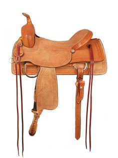 American Saddlery Comanche Ranch Cutter Saddle