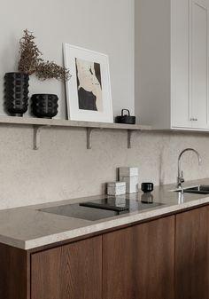 Interior Design Kitchen, Interior Decorating, Fusion Kitchen, Kitchen Dining, Kitchen Decor, Country Look, Timeless Kitchen, Scandinavian Kitchen, Küchen Design