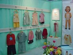 baby cloth display