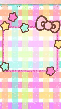 iPhone Wall: HK tjn Hello Kitty Art, Hello Kitty Coloring, Hello Kitty Birthday, Cat Birthday, Hello Kitty Pictures, Kitty Images, Hello Kitty Backgrounds, Hello Kitty Wallpaper, Pastel Background Wallpapers
