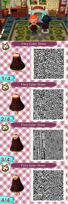 Fiery Cyber Dress ~Created by Ashley~
