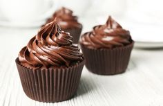 Harlan Kilstein's Completely Keto Chocolate Cupcakes With Chocolate Frosting - Completely Keto