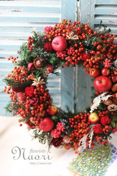 Christmas decoration: wreath