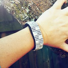 Fitbit Pearl Checkered Fitbling: Flex, Charge, Charge HR, Surge, NonAdhesive Cover, Wearable Tech Jewelry, Fitbit Accessory, Wedding Jewelry by overallpersonALIty on Etsy