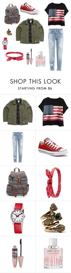 """Good"" by biancagramaje on Polyvore featuring Vans, Chicnova Fashion, Dsquared2, Converse, Aéropostale, Charlotte Russe, Mondaine, Gucci, Maybelline and Jimmy Choo"
