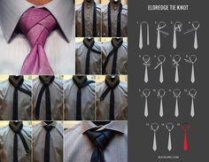 "How to tie the ""Eldredge"" tie knot."