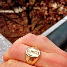 Looks a lot like my ring: they didn't offer women's rings when I graduated.
