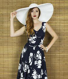 Trashy Diva Louise Dress | Vintage Inspired Dress | Deco Daffodil