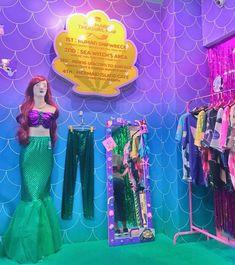 New updates from Mermaid Castle Siam! Rustic Coffee Shop, Ariel Costumes, Mermaid Room, Kawaii, News Update, Bangkok Thailand, Bedroom Inspiration, New Room, Mermaids
