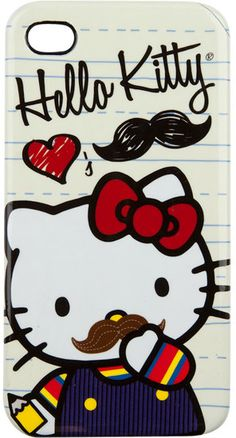 yes plz love hello kitty and mustaches