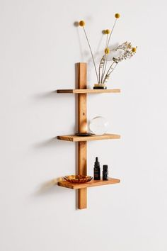 Shop Takara Mini Wall Shelf at Urban Outfitters today. We carry all the latest styles, colors and brands for you to choose from right here. Small Wall Shelf, Wood Wall Shelf, Small Shelves, Plant Shelves, Corner Shelves, Floating Shelves, Wall Mounted Shelf, Corner Wall Decor, Cool Shelves
