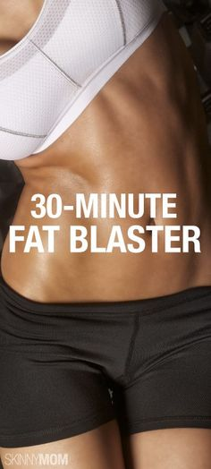 Blast the fat with this 30-minute routine!