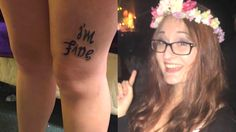 This girl's mind-bending optical illusion tattoo is starting a viral dialogue about depression.