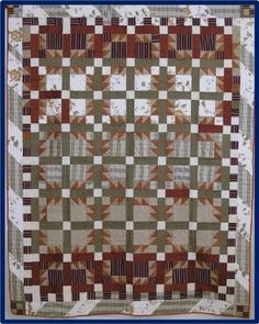 Autumn Winds by Gertrude Schilsky.  2011 quilt show, Cotton Patch Quilters (Georgia)