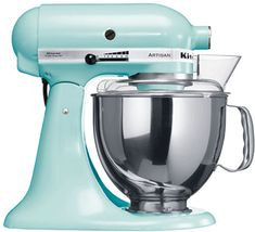 Virtually unchanged in design since the the KitchenAid is still the best machine of its kind on the market and depended on by home cooks and professionals alike. Kitchenaid Artisan Mixers - Various Colours Robot Kitchen, Kitchen Aid Mixer, Kitchen Gadgets, Kitchen Appliances, Kitchen Stuff, Kitchen Ideas, Kitchen Inspiration, Kitchen Tools, Kitchen Things