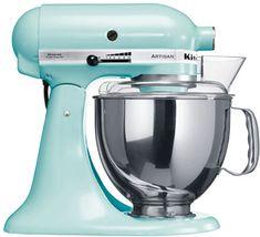 Artisan Ice Blue Kitchen Aid Mixer :)