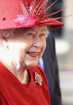 Queen Elizabeth in February