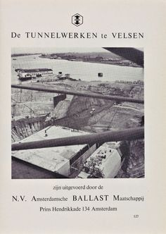 Op 28 september 1957 opende koningin Juliana officieel de Velsertunnel.