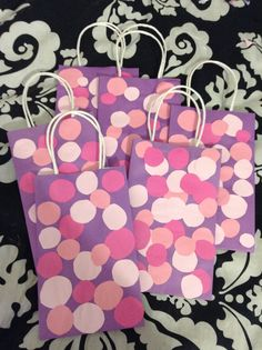 Doc McStuffins Pants Gift Bags!