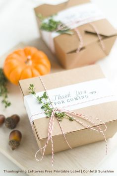 Free Printable Thanksgiving Leftovers Label