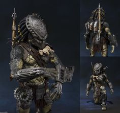 Predator Wolf Alien vs Predator Action Figure from Bandai Tamashii Nations s H Monster Arts