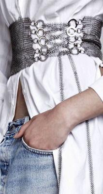 "thevisualvamp: ""I love a white shirt """
