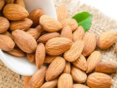 Walnut and almond enriched diets lowered LDL cholesterol in a study of 18 participants.