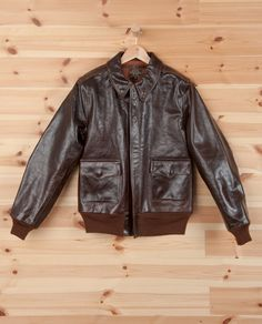 b6551d263bf EASTMAN LEATHER A-2 JACKET. AWESOME. Military Jacket