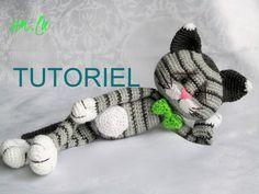 Tutoriel de doudou chat tricoter en crochet : Jeux, jouets par amilu