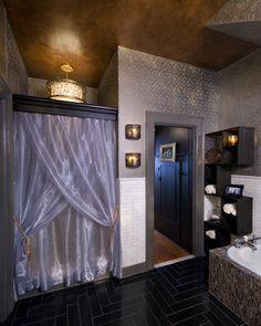 Richmond Symphony Orchestra League Designer House, Rothesay, the gentleman's bathroom