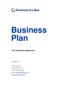 Business-in-a-Box - Download Business Plan Templates & Forms Now Business Plan Sample Pdf, Small Business Plan Template, Daycare Business Plan, Business Plan Outline, Business Plan Example, Best Business Plan, Creating A Business Plan, Business Writing, Business Planning