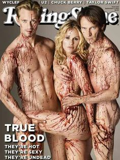 True Blood.... still can't believe this was on the cover to the public! wow