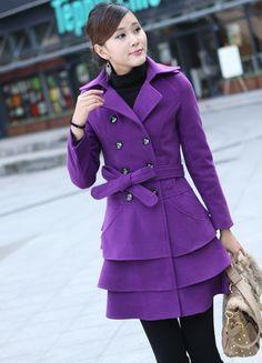 Nice purple coat