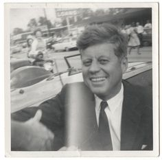 Unidentified Photographer, [John F. Kennedy], ca. 1963. International Center of Photography, Museum Purchase, 2013