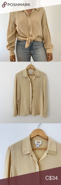 I just added this listing on Poshmark: Vintage silk cream/beige blouse. Plus Fashion, Fashion Tips, Fashion Trends, Talbots, Size 14, Neutral, Blouses, Beige, Dreams