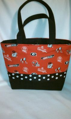 University of Georgia purse.  A must have for any Bulldog fan!
