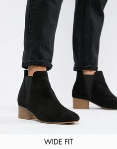 edbee8746d4b3 AlternateText Professional Clothing, Wide Fit Shoes, Flat Feet, Suede Ankle  Boots