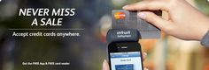 Intuit GoPayment® Canada | iPhone Credit Card Processing
