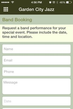 Planning an event in Augusta, Georgia, and need some music? Let us help. Download the @gardencityjazz mobile app