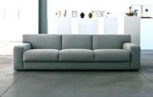 ver wanted a king size sofa bed? well now you can get it! This is one of the few sofa beds mega, available with European king size bed of 71 inches width! No more sharing space! Not only you are purchasing a beatiful modern sofa bed plus but you will not compromise your sleeping hours anymore! Lovely Italian design. We like the rounded shaped armrests which end up into the generous back cushions and the tufty seat cushions now available in a three seater!