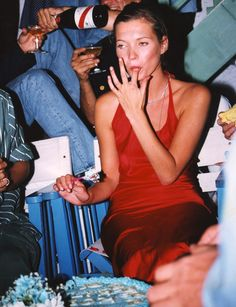 The Best Slip Dresses to Buy Now, in Honor of Kate Moss's Birthday Kate Moss's Best Slip Dress Moments of All Time Divas, Kate Moss Style, Queen Kate, Miss Moss, Vogue, Facon, S Models, Unisex, Couture