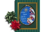 Wise Men, ornament cross stitch