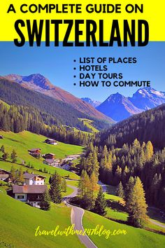 Switzerland tour Guide – with List of places to vist Switzerland Tour, Places In Switzerland, Travel Advice, Travel Guides, Travel Tips, Cool Places To Visit, Places To Travel, Travel Destinations, Venice Travel