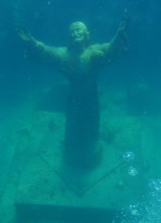 Christ of the Abyss, Italy