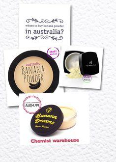 # cheapest banana 🍌 Powder# Australia 🇦🇺 drug store @w7 cosmetics  @ELFcosmetics  @Australis cosmetics